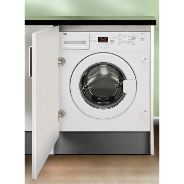 Beko WMI71441 7Kg 1400 Spin Integrated Washing Machine