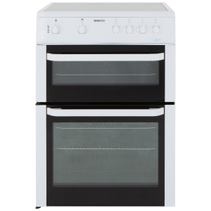 Beko BDVC663W White 60cm Double Oven Electric Cooker