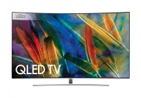"Samsung 55"" Curved 4K QLED TV & Free Blu Ray Player"