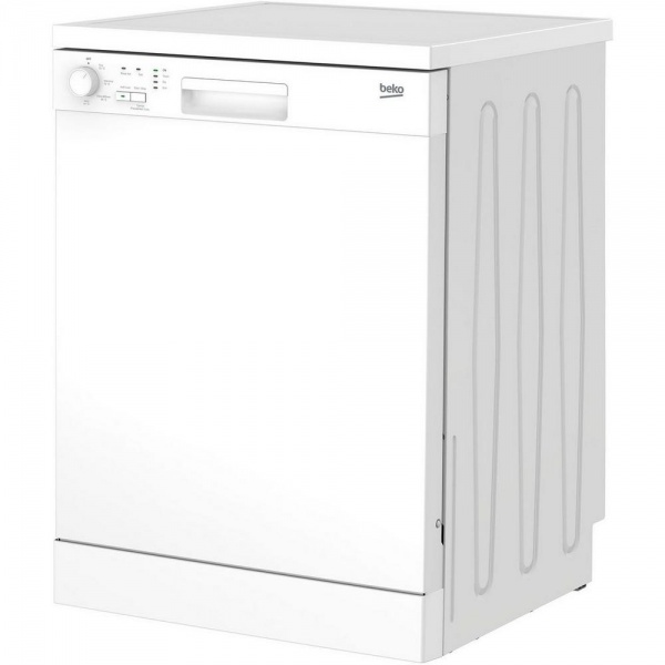 Beko DFN04C11W Full Size Dishwasher White  A+ Rated