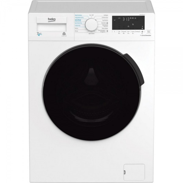 Beko WDB7426S1CW 7kg/4kg Washer Dryer  White