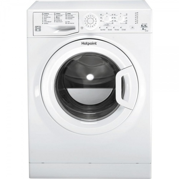 Hotpoint FDEU9640P 9kg Wash 6kg Dry Washer Dryer
