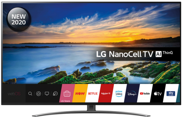 LG 55NANO866NA 55'' 4K Ultra HD NanoCell Smart TV