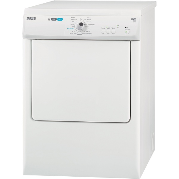 Zanussi ZTE7101PZ 7Kg Vented Tumble Dryer White