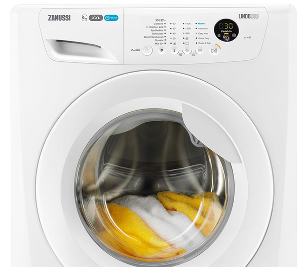 Zanussi ZWF91483W 9Kg Washing Machine 1400 Spin Speed