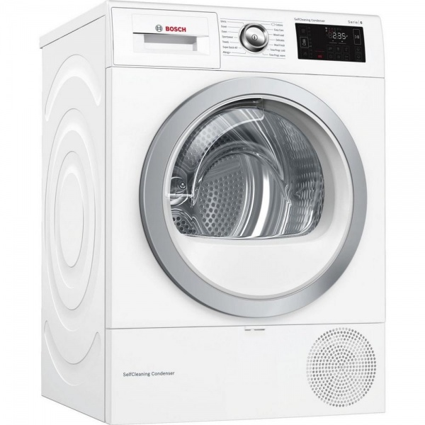 Bosch WTWH7660GB Condenser Tumble Dryer with Heat Pump
