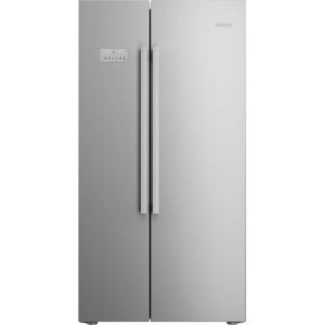 Beko ASL141X Stainless Steel Frost Free American Fridge Freezer