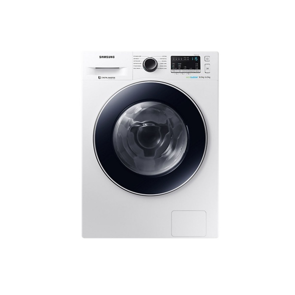 Samsung WD80M4453IW 1400 Spin 8kg Wash 6kg Dry Washer Dryer