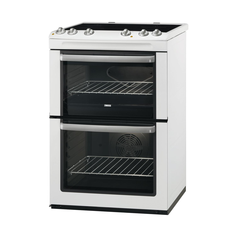 zanussi zcv668mw 60cm cooker double oven grill tht direct rh thtdirect co uk zanussi zcv667mxc electric cooker manual Zanussi Oven Malaysia