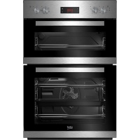 Beko CDF22309X Built In Electric Double Oven  Stainless Steel