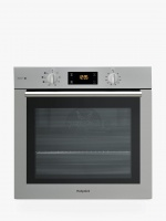 Hotpoint FA4S544IXH  Built-in Single Steam Oven, Stainless Steel